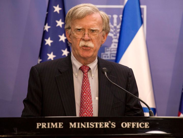 John Bolton, seen here in Jerusalem in June, is leaving his position as national security adviser.