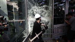 Las imágenes de los violentos enfrentamientos en Hong