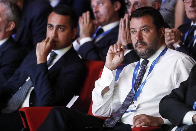 Matteo Salvini abbandona il cdm irritato dall'assenza di Di