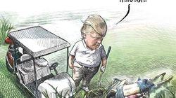Επικριτικό σκίτσο για τον Τραμπ γίνεται viral - Δύο μέρες μετά ο σκιτσογράφος