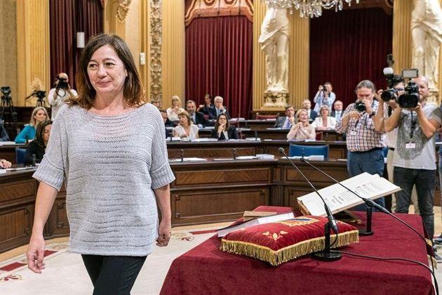 Francina Armengol toma posesión como presidenta de