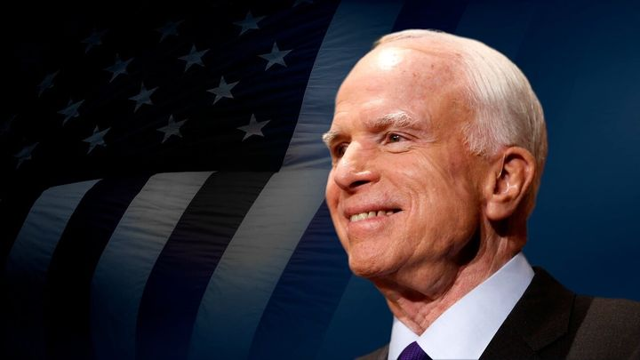 President Donald Trump frequently tangled with Sen. John McCain (R-Ariz.) before the senator died of brain cancer. Veterans w