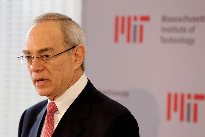 L. Rafael Reif, president of the Massachusetts Institute of Technology.