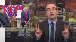 John Oliver Tells Donald Trump To Give Women The Same Respect As Kim Jong