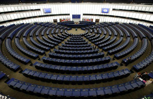 Le Parlement européen vide, Strasbourg, juillet