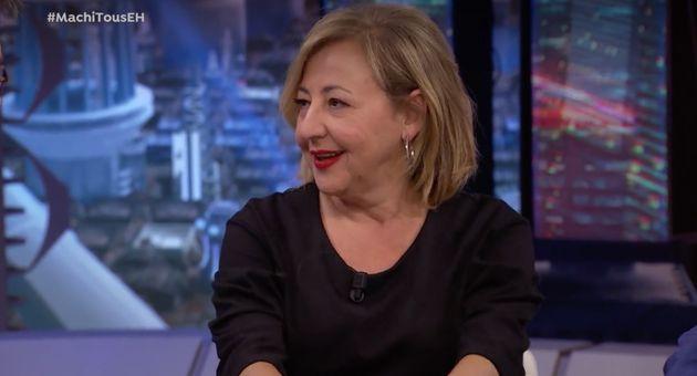 Carmen Machi elogia en 'El Hormiguero' (Antena 3) a este político:
