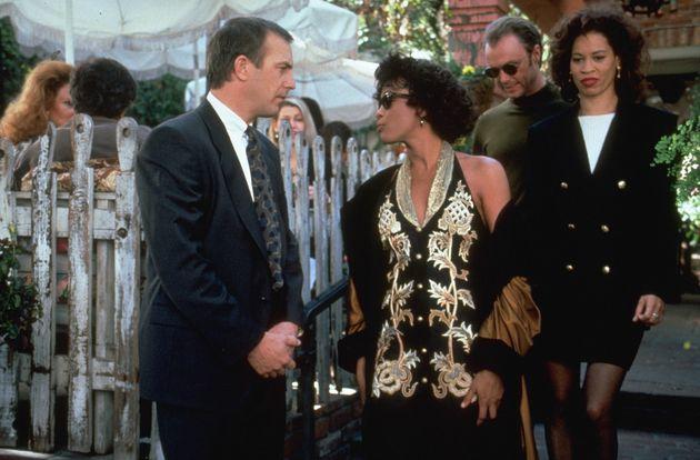Kevin starred alongside Whitney Houston in the original Bodyguard