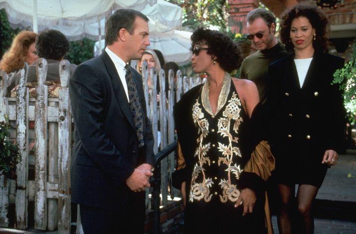 Kevin starred alongside Whitney Houston in the original Bodyguard movie.