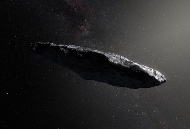 Le visiteur extraterrestre Oumuamua, un vaisseau extraterrestre? Cette nouvelle étude douche les