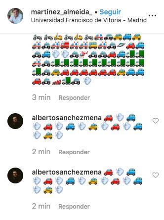 Lo que está ocurriendo en los comentarios de Instagram de Almeida es