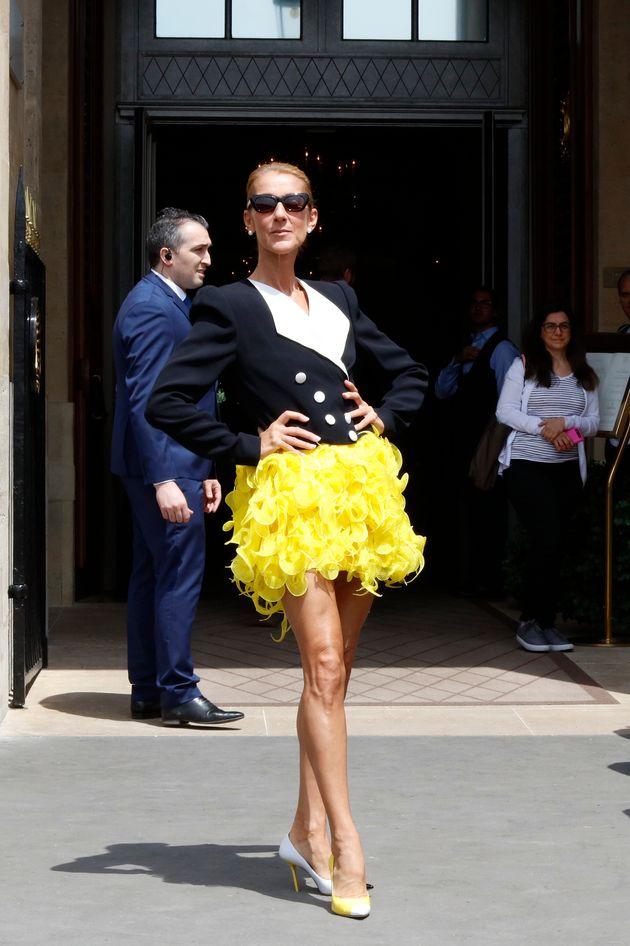 Céline Dion affole la Fashion Week de
