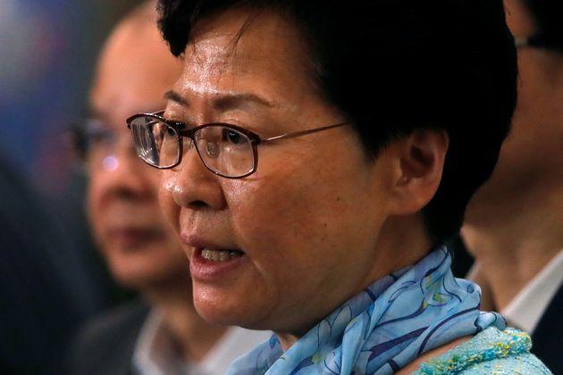 Hong Kong Chief Executive Carrie
