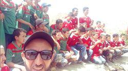 CAN 2019: Les enfants de Taza ont reçu le téléviseur promis par Medhi