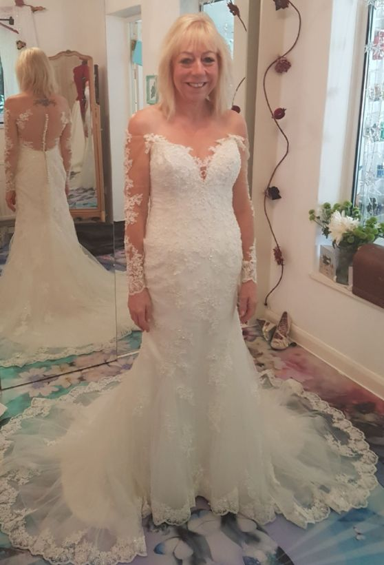 Holly's client who ordered a new dress for her second wedding.