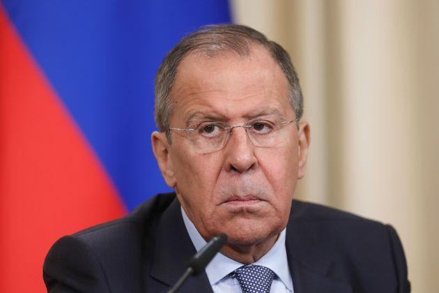 Le chef de diplomatie russe Sergueï