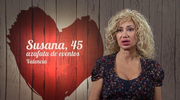 Una mujer en 'First Dates' (Cuatro):