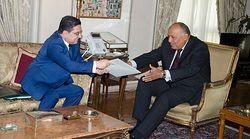 Le roi Mohammed VI transmet un message au président de