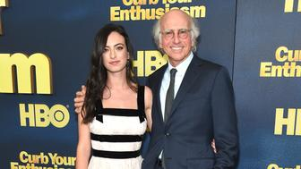 "NEW YORK, NY - SEPTEMBER 27:  Cazzie David and Larry David attend ""Curb Your Enthusiasm"" season 9 premiere at SVA Theater on September 27, 2017 in New York City.  (Photo by Gary Gershoff/WireImage)"
