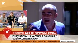 Jorge Javier Vázquez mete la pata en 'Cuatro al día' en solo dos minutos: