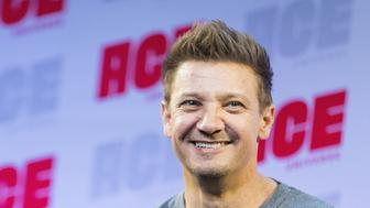 SEATTLE, WA - JUNE 29:  Actor Jeremy Renner speaks on stage during ACE Comic Con at Century Link Field Event Center on June 28, 2019 in Seattle, Washington.  (Photo by Mat Hayward/Getty Images)