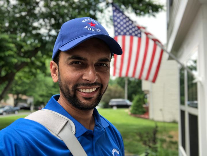 Qasim Rashid is a Democratic candidate for Virginia's Senate District 28.