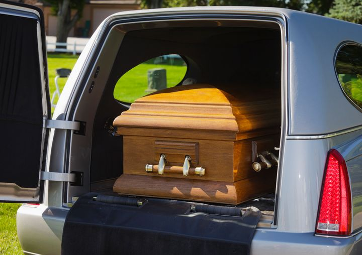 A hearse driver got off with just a warning for driving with a casket in the HOV lane.