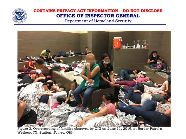 Families held at the Weslaco, Texas, station on June 11.