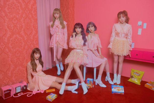 5人組K-POPユニット「HONEY