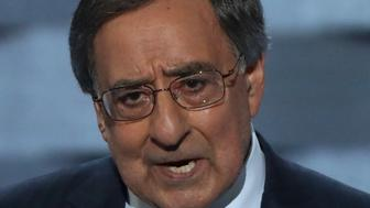 PHILADELPHIA, PA - JULY 27:  Former Secretary of Defense Leon Panetta delivers a speech on the third day of the Democratic National Convention at the Wells Fargo Center, July 27, 2016 in Philadelphia, Pennsylvania. Democratic presidential candidate Hillary Clinton received the number of votes needed to secure the party's nomination. An estimated 50,000 people are expected in Philadelphia, including hundreds of protesters and members of the media. The four-day Democratic National Convention kicked off July 25.  (Photo by Alex Wong/Getty Images)