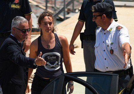 Un tribunal de Italia retira el arresto domiciliario contra Carola Rackete, capitana del 'Sea-Watch