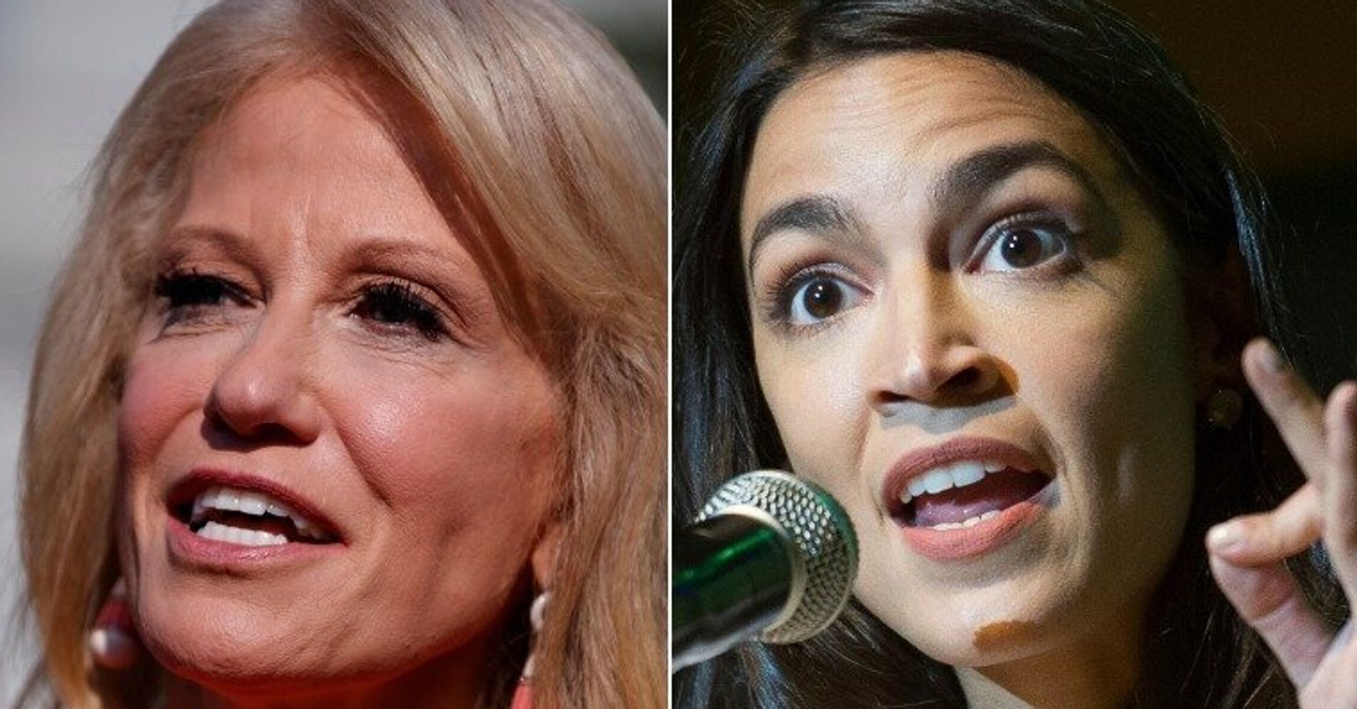 Alexandria Ocasio-Cortez Unloads On Kellyanne Conway In Border Bill Tweetstorm thumbnail