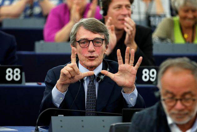 David Sassoli eletto presidente dell'Europarlamento al 2°