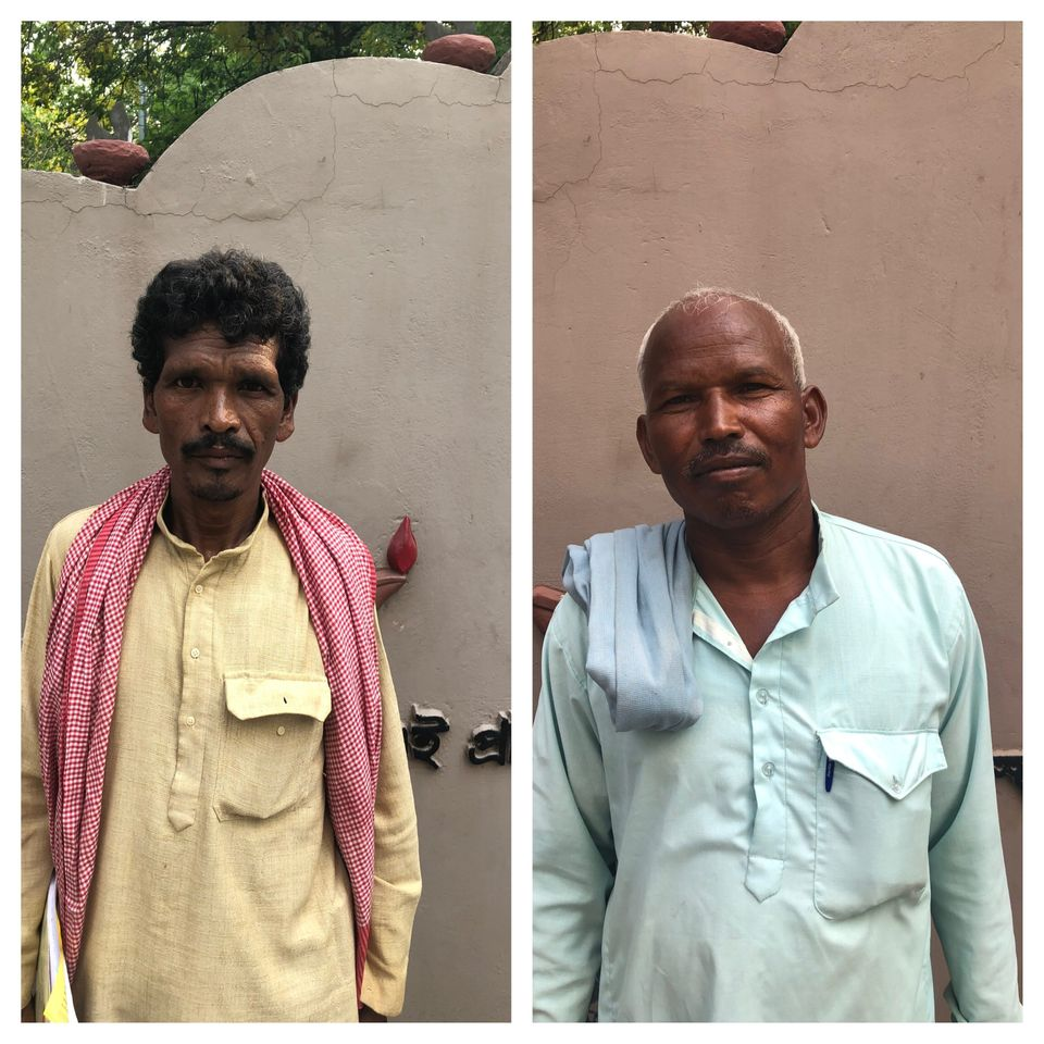 Balkeshwar Singh (Left) and Munnar Gond (Right) in different but related ways offer a glimpse into...