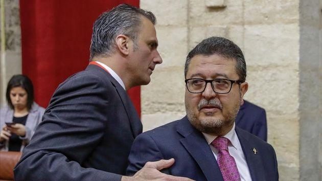 Vox espera que Serrano se recupere y vuelva al Parlamento tras el