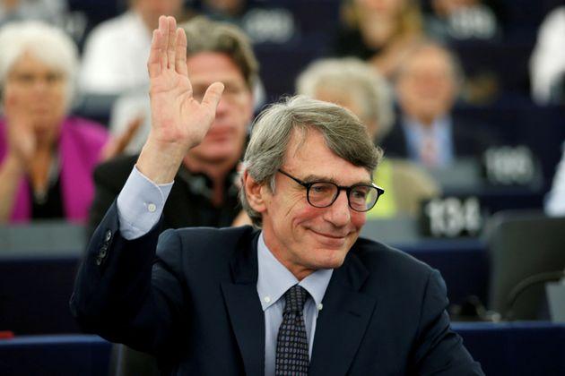 El socialdemócrata italiano David-Maria Sassoli, nuevo presidente del Parlamento