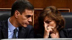 Ministros y Ejecutiva socialista se debaten entre una segunda investidura o