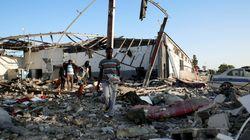 Carnage après un raid aérien sur un centre de migrants en Libye, possible