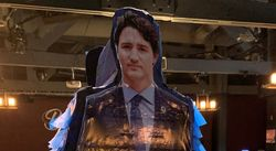Life-Size Trudeau Pinata 'All Just In Fun,' Defends Alberta Bar