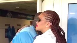 Rihanna's Reunion With Her Gym Teacher Will Give You All The RiRi