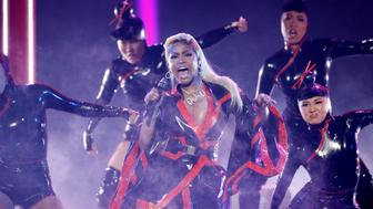 2018 BET Awards - Show  - Los Angeles, California, U.S., 24/06/2018 - Nicki Minaj performs a medley. REUTERS/Mario Anzuoni     TPX IMAGES OF THE DAY