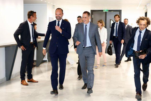 Édouard Philippe en Corse à la recherche du dialogue