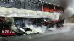 Un autocar avec des MRE à bord prend feu à la sortie de Tanger