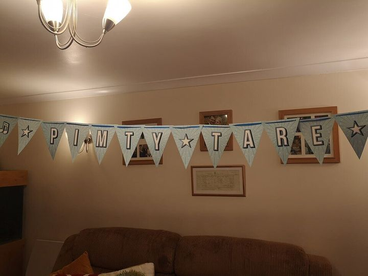 'Ready To Pimty?' Mum Discovers Glaring Error On 4-Year-Old Son's Birthday Bunting | HuffPost Life