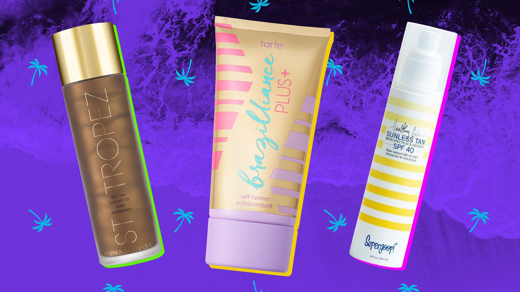 Best Sunless Tanner 2020.The Best Self Tanners You Can Buy Under 50 Huffpost Life