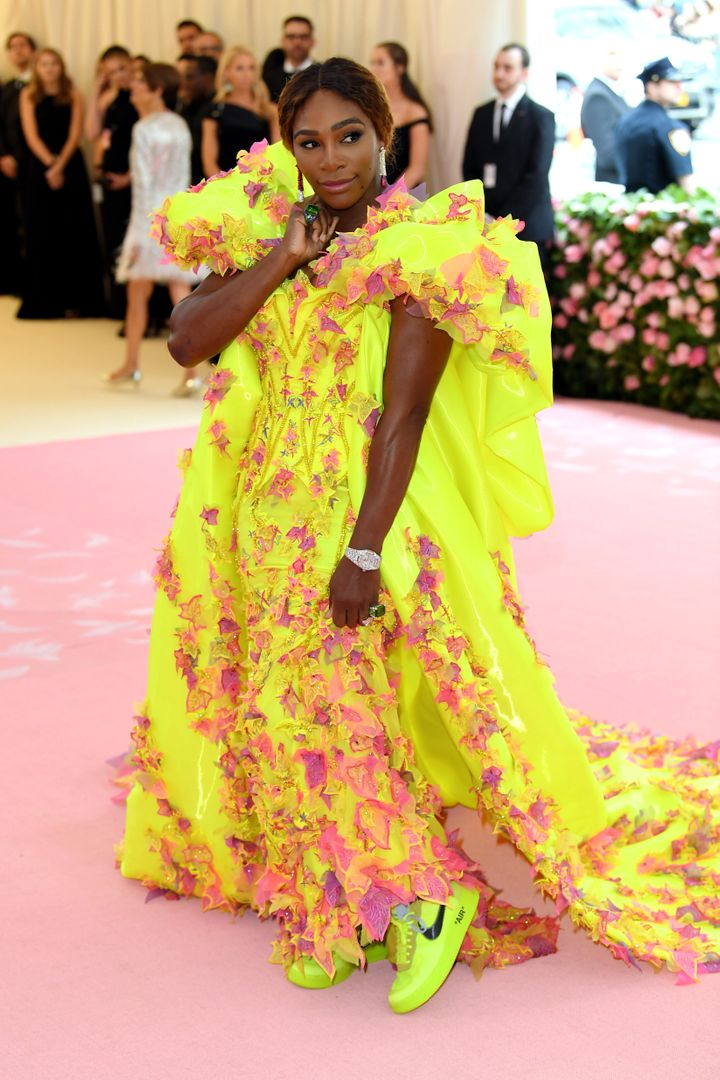 Williams attends the 2019 Met Gala Celebrating Camp: Notes On Fashion at the Metropolitan Museum of Art on May 6 in New York