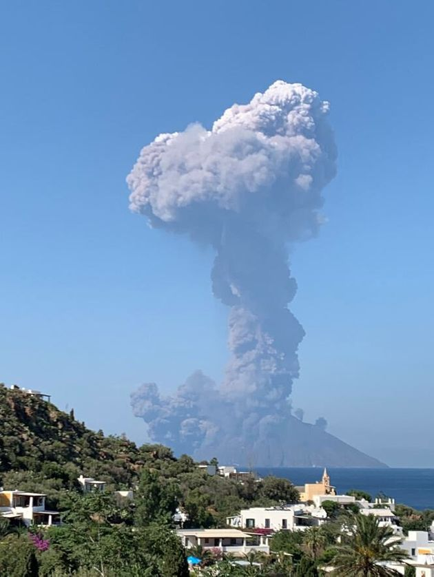 Stromboli Volcano: One Dead As Eruption On Italian Island Leaves Destination Covered In