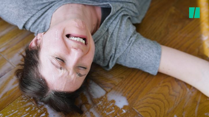 There's no use crying over spilled milk ... unless you're a new mom.