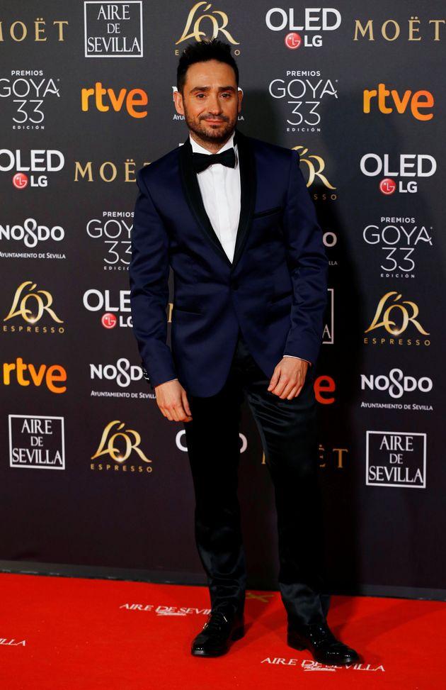 Juan Antonio Bayona, el pasado febrero posando antes de la gala de los Premios Goya en