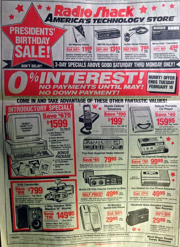 Le iPhone remplace aujourd'hui bon nombre d'appareils vendus il y a quelques années, comme le montre cette publicité de 1991.