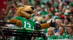 The Roughriders' Mascot Got A Makeover And It Is